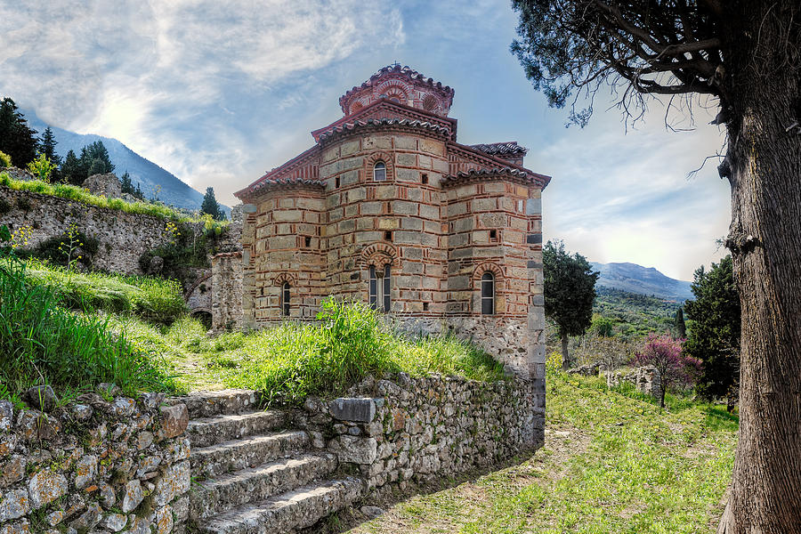 Mystras - Greece Photograph by Constantinos Iliopoulos