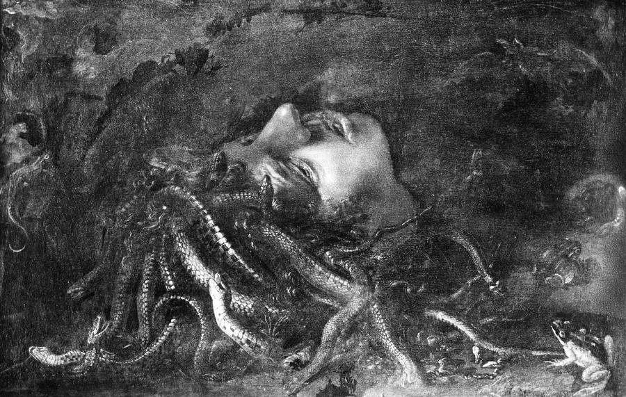 15th Century Photograph - Mythology: Medusa by Granger