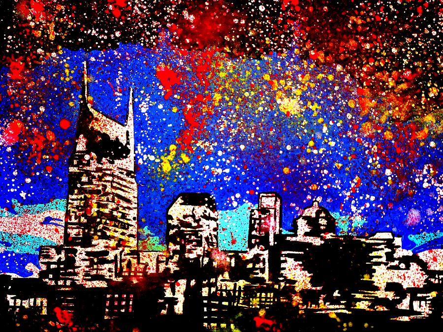 Nashville Painting by Nickie Mantlo - Nashville Fine Art Prints and ...
