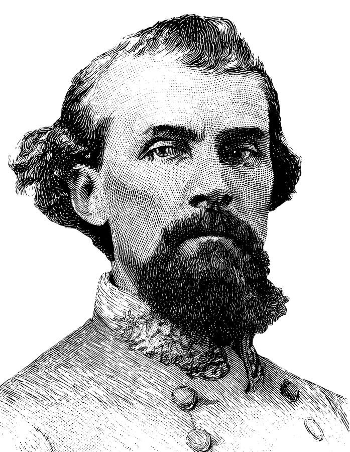 Nathan Bedford Forrest Digital Art