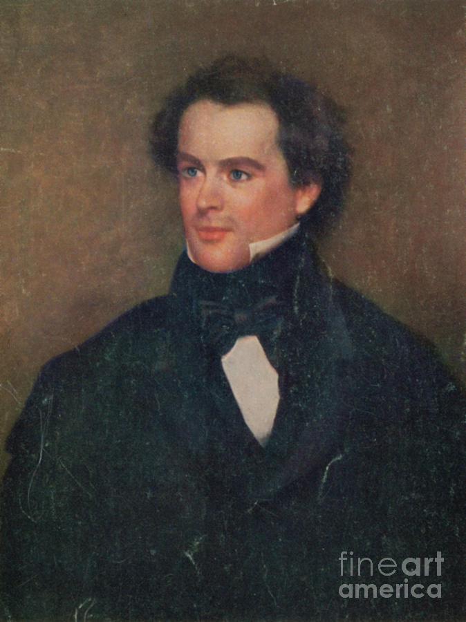 Nathaniel Hawthorne, American Author Photograph
