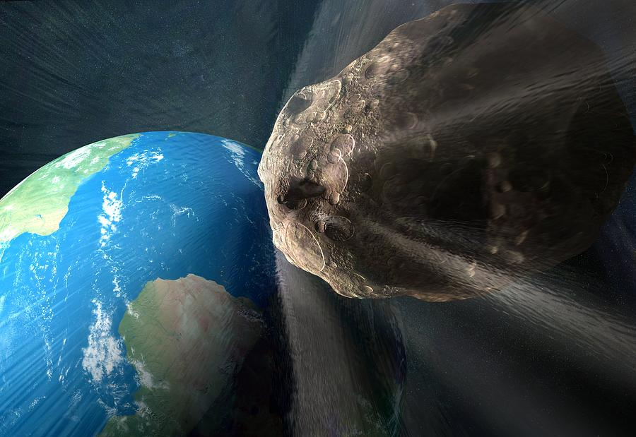 Near-earth Asteroid, Artwork Photograph