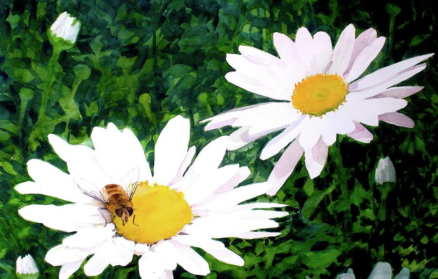 Nectar For Breakfast Painting  - Nectar For Breakfast Fine Art Print