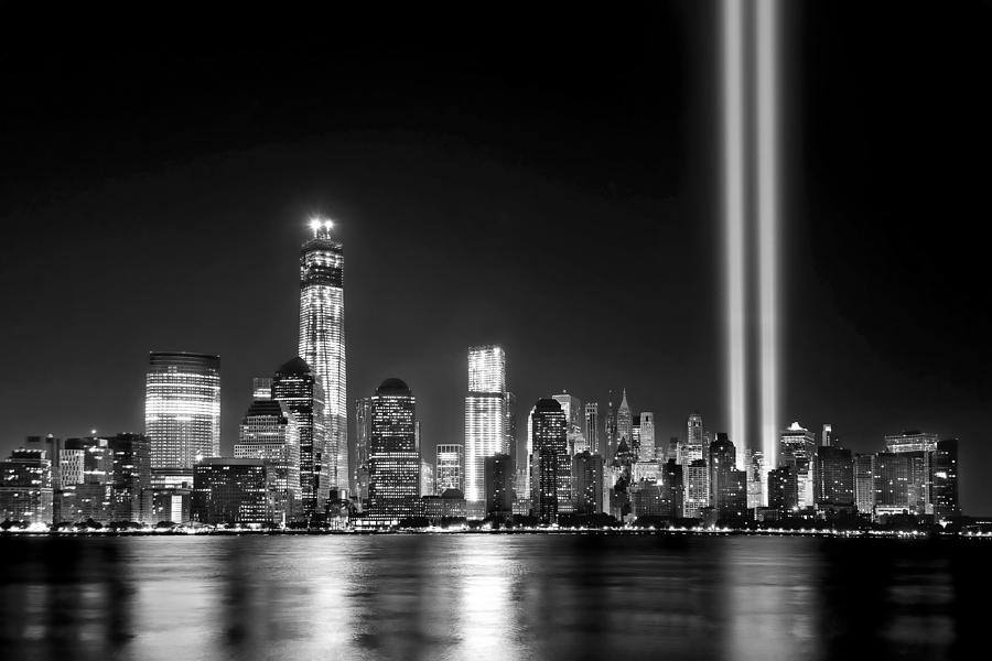 New York City Skyline Tribute In Lights And Lower ...