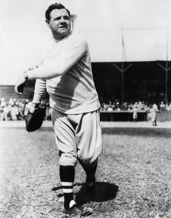 New York Yankees. Yankees Outfielder Photograph
