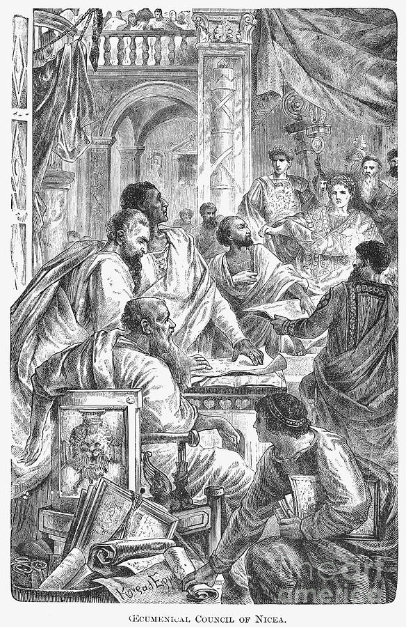 Nicaea Council, 325 A.d Photograph  - Nicaea Council, 325 A.d Fine Art Print
