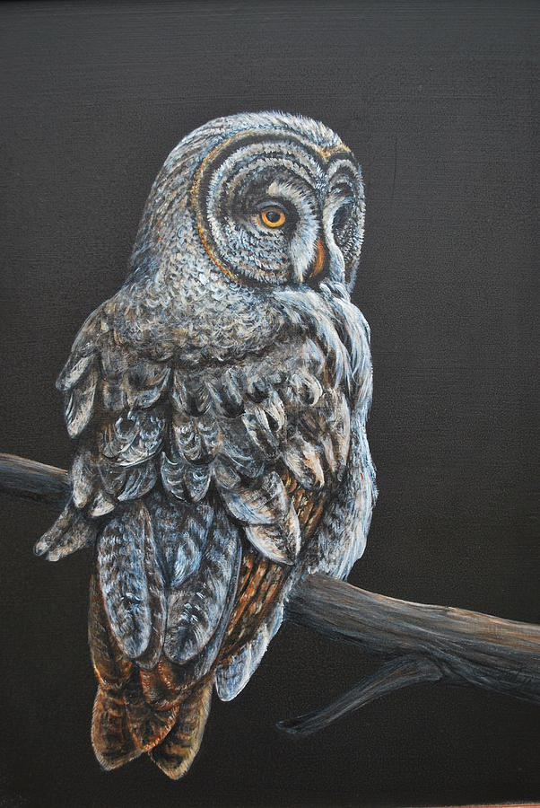 Night owl by judy arbuckle for Night owl paint color