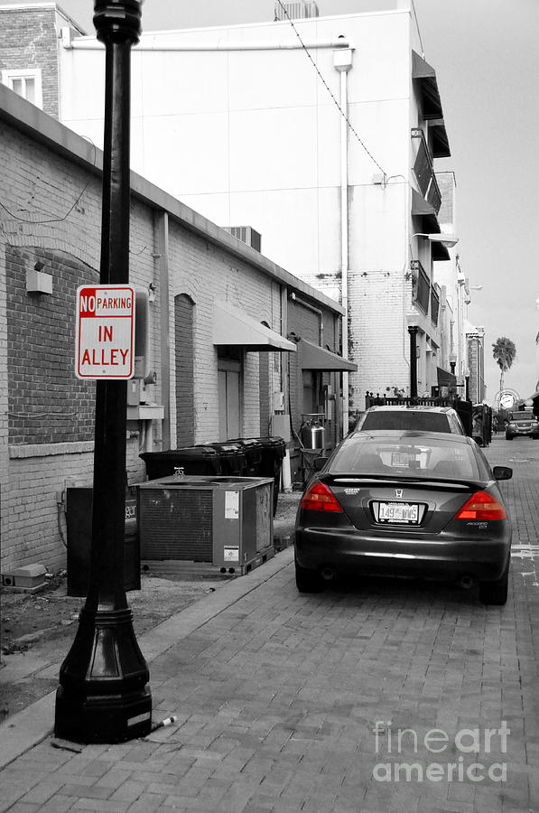 No Parking Photograph  - No Parking Fine Art Print