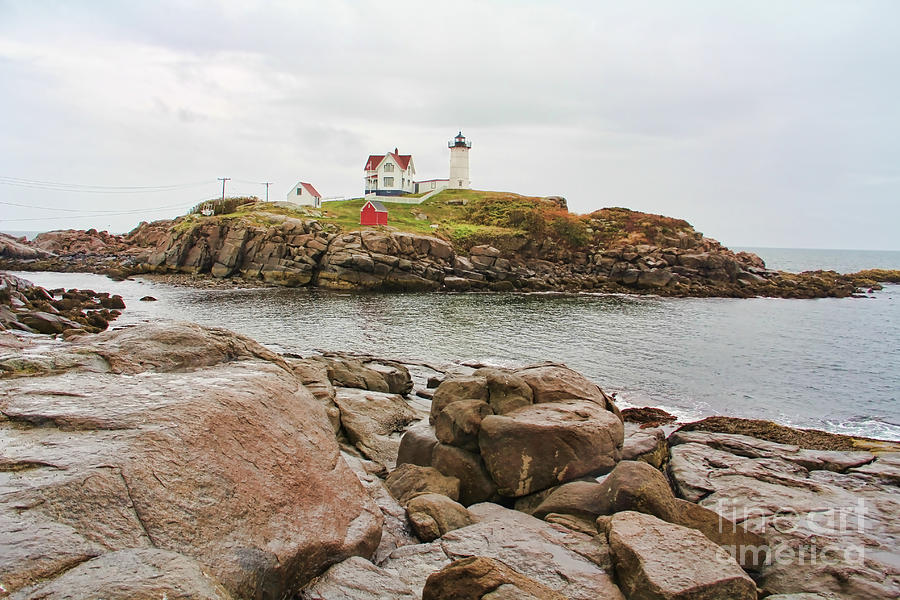 Nubble Lighthouse Photograph