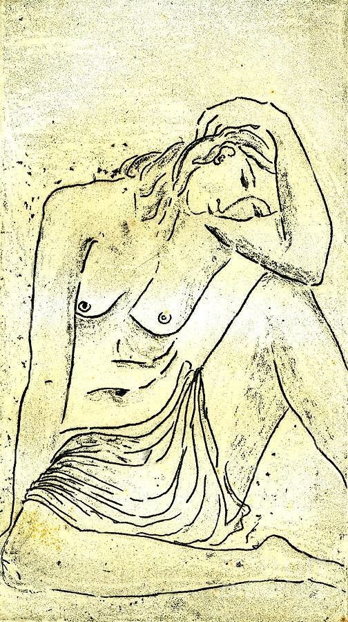 Nude II A.p. Drawing