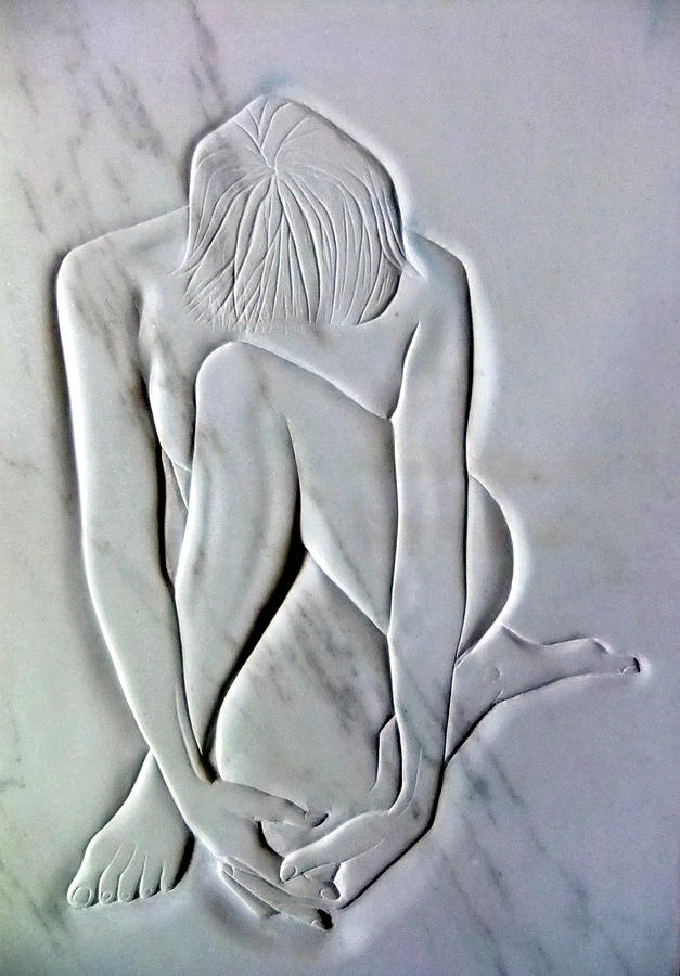 Nude Resting Sculpture