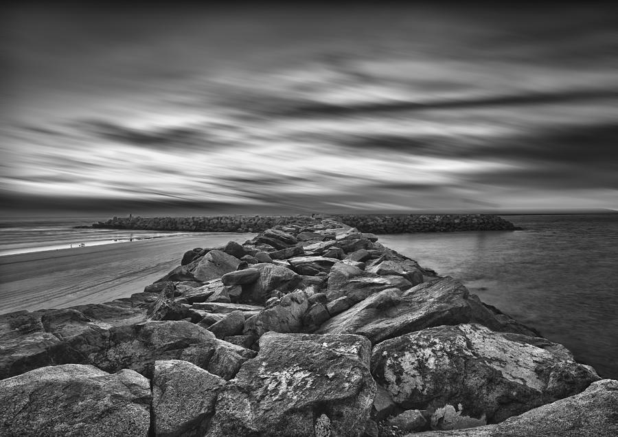 Oceanside Harbor Jetty Photograph  - Oceanside Harbor Jetty Fine Art Print