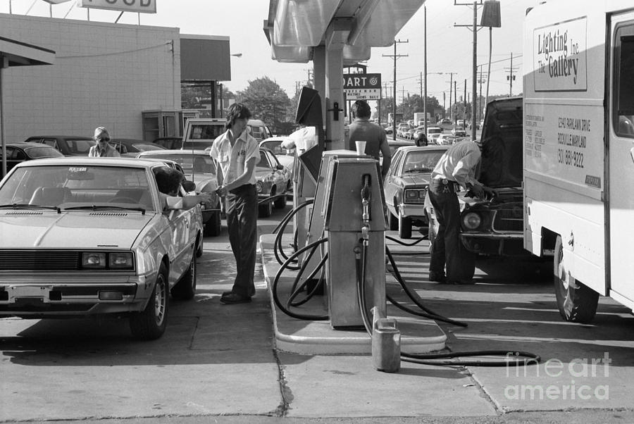 Oil Crisis 1979 Photograph By Granger