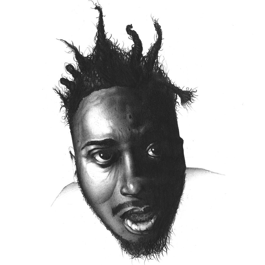 Old Dirty Bastard Drawing