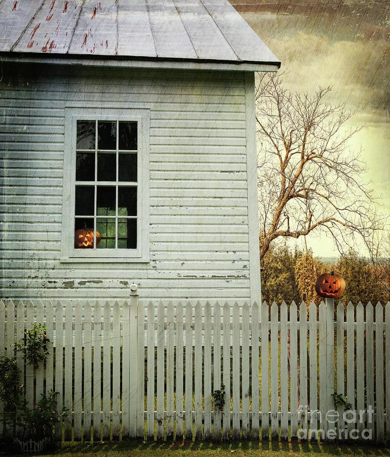 Old Farm  House Window  Photograph