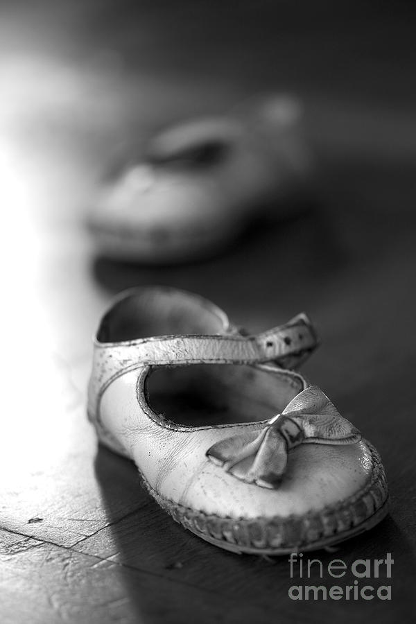 Old Shoes Photograph  - Old Shoes Fine Art Print