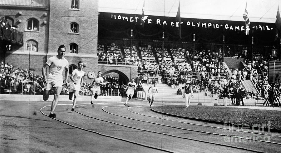 Olympic Games, 1912 Photograph  - Olympic Games, 1912 Fine Art Print
