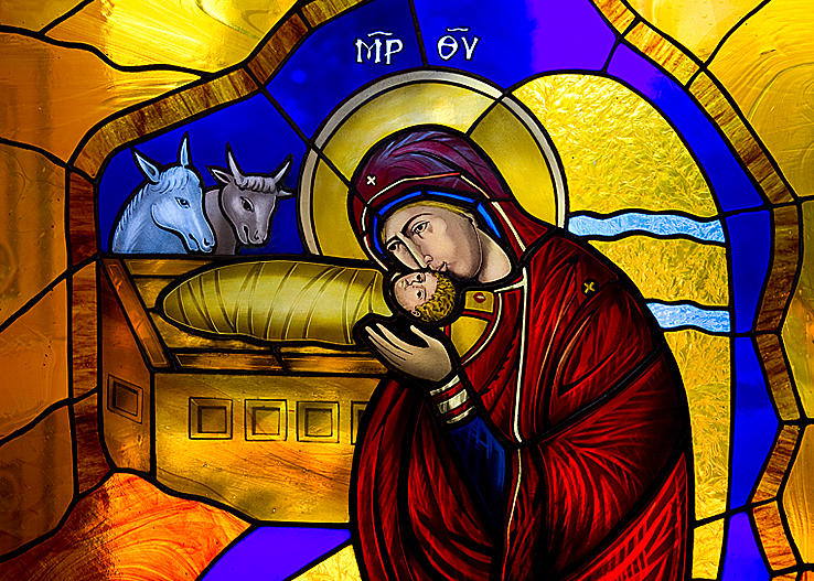 Nativity christmas cards free orthodox christmas ecards
