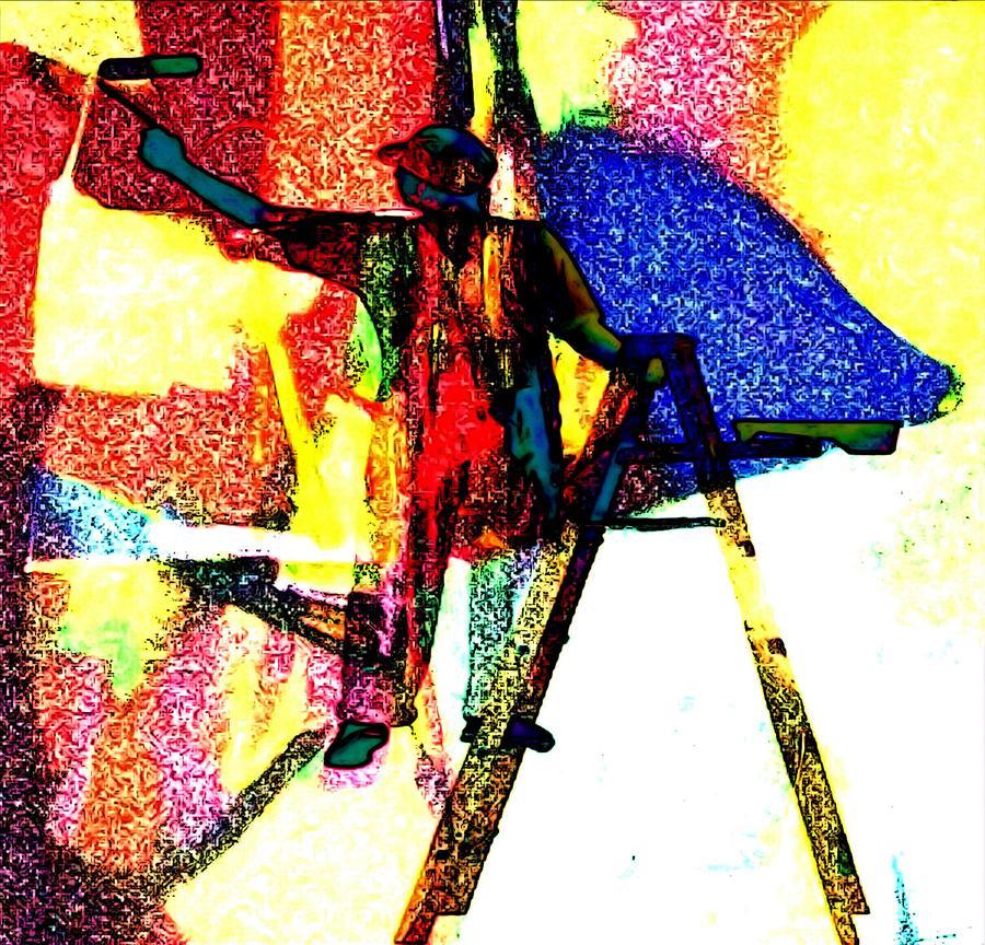 Painter Painting Photograph