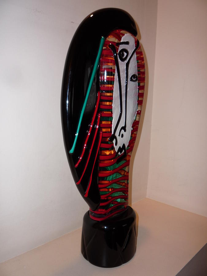 Venetian Glass Glass Art - Paloma Picasso by Bisazza Vetro