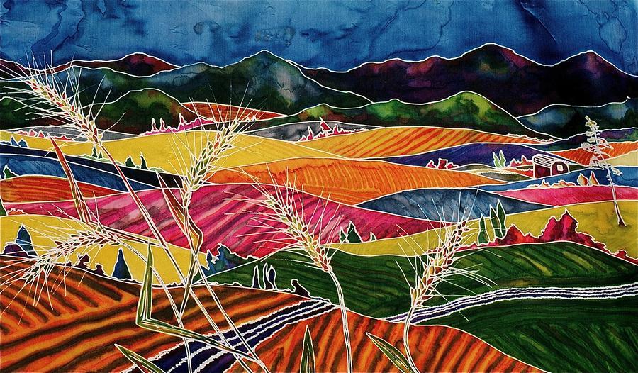 Palouse Fields Tapestry - Textile