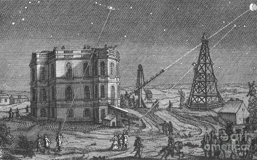 Paris Observatory, 17th Century Photograph