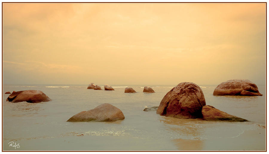 Pastel Rocks Photograph