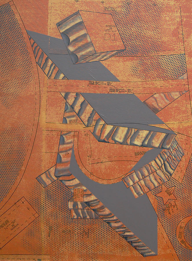 Patterns Series Number Three Painting