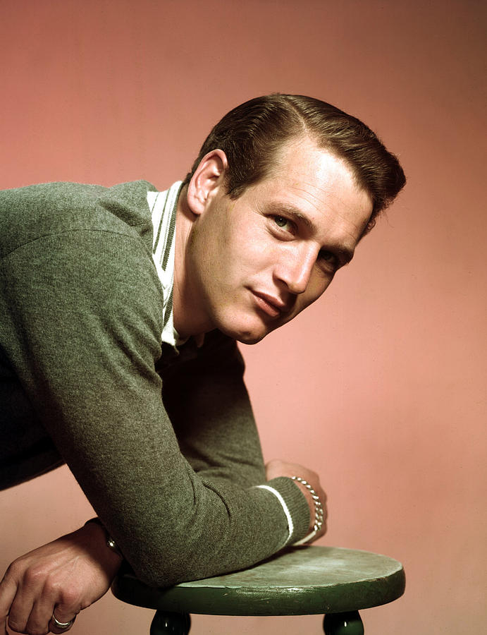 Paul Newman In The Late 1950s Photograph  - Paul Newman In The Late 1950s Fine Art Print