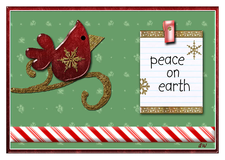 Peace On Earth Digital Art