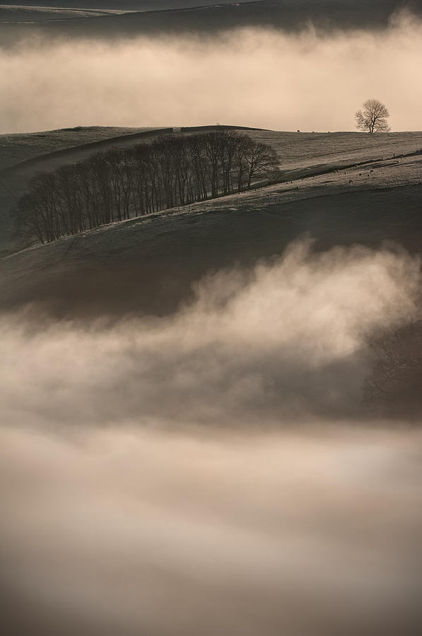 Peak District Landscape Photograph  - Peak District Landscape Fine Art Print