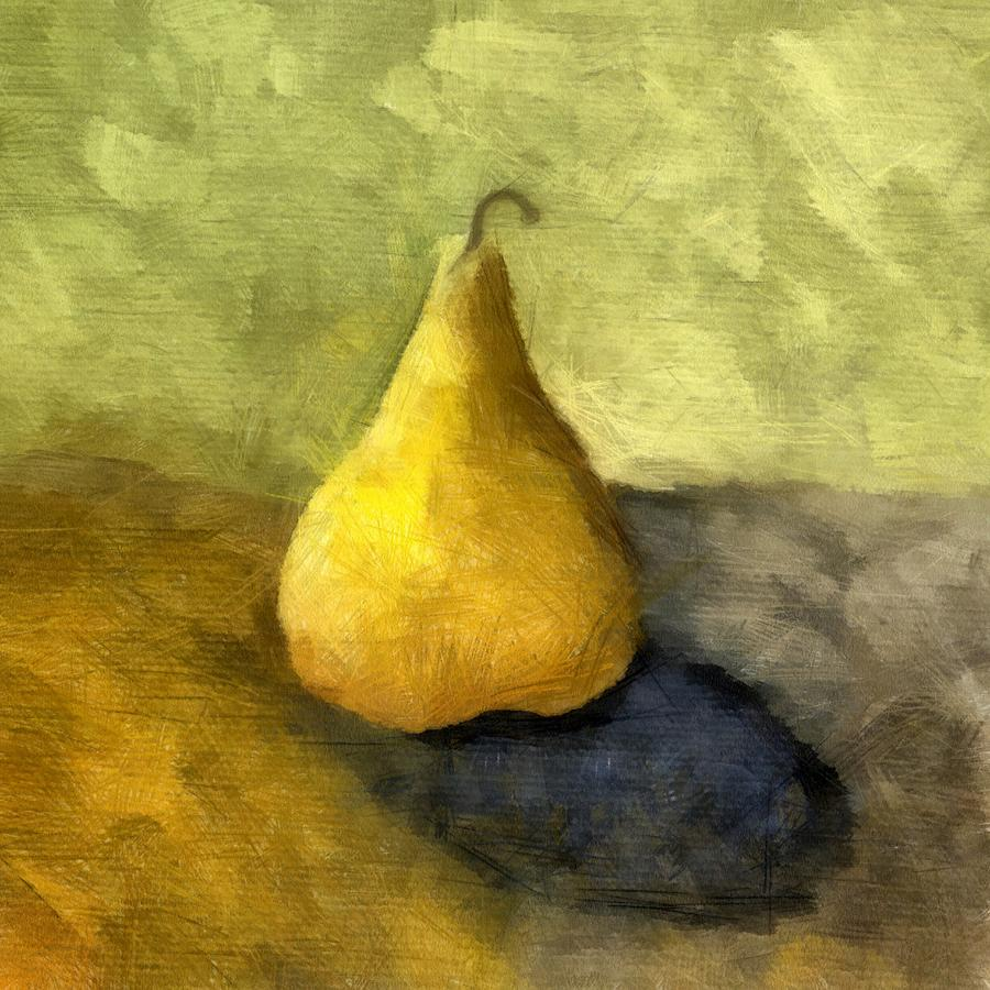 Pear Still Life Painting  - Pear Still Life Fine Art Print