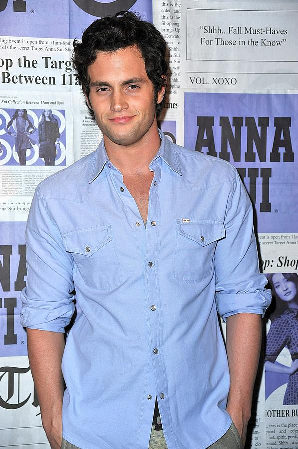 Penn Badgley At Arrivals Photograph