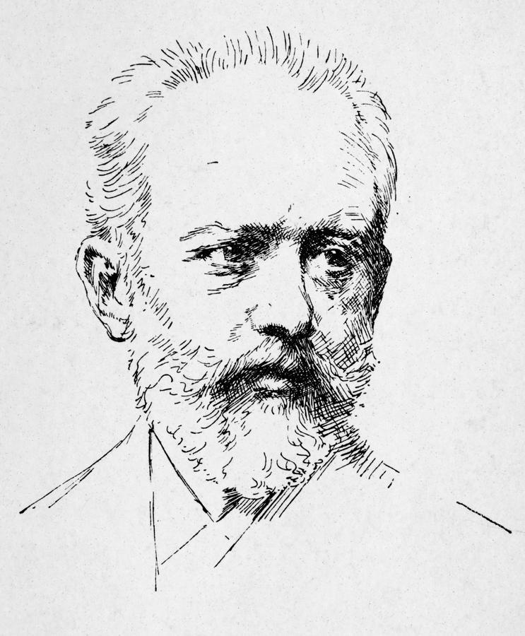 Peter Ilich Tchaikovsky Photograph