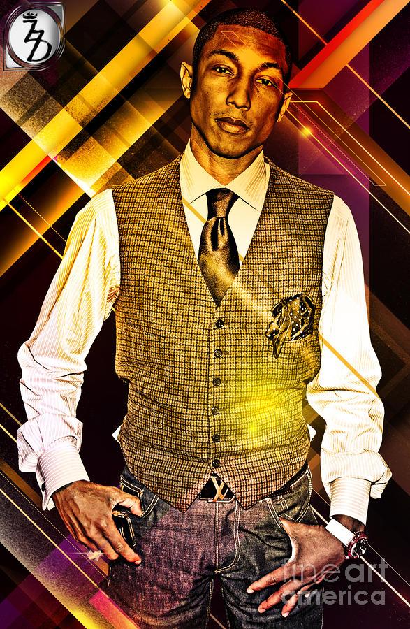 Pharrell Digital Art