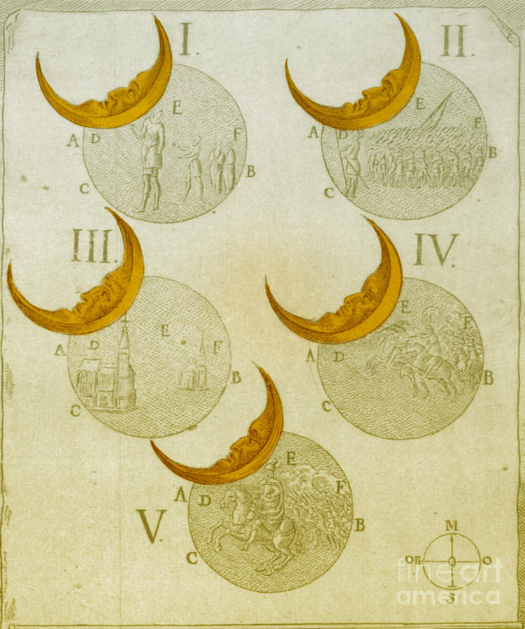 Astrology Photograph - Phases Of An Eclipse by Science Source