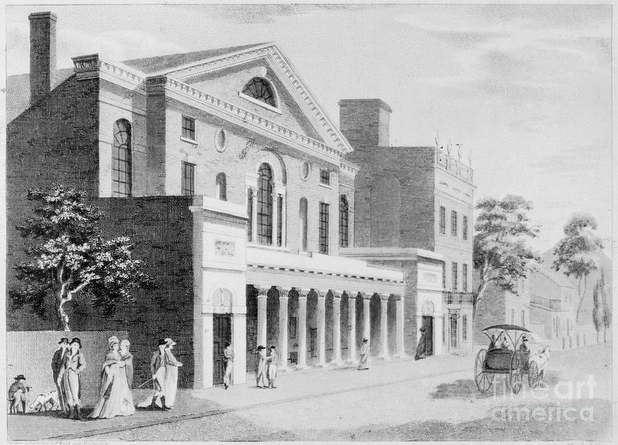 1800 Photograph - Philadelphia: Theater by Granger