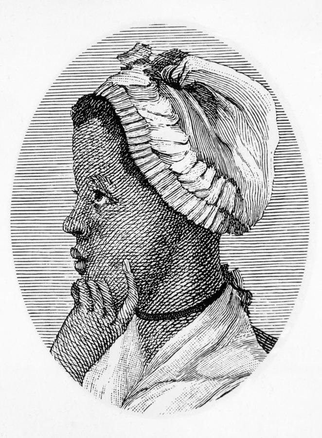 1700s Portrait Photograph - Phillis Wheatley 1753-1784, The First by Everett