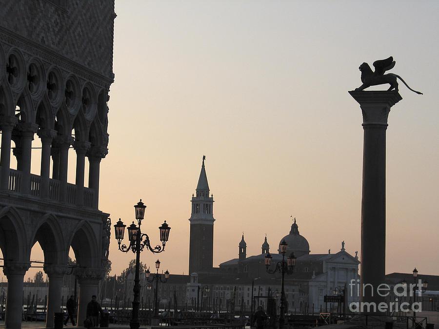 Piazetta. Venice Photograph