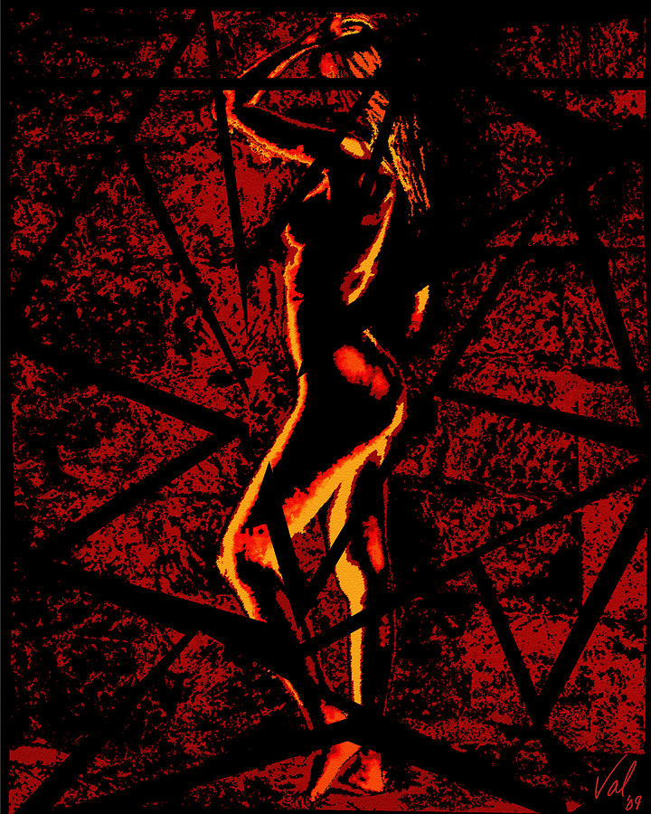Pieces Of You Female Digital Art  - Pieces Of You Female Fine Art Print