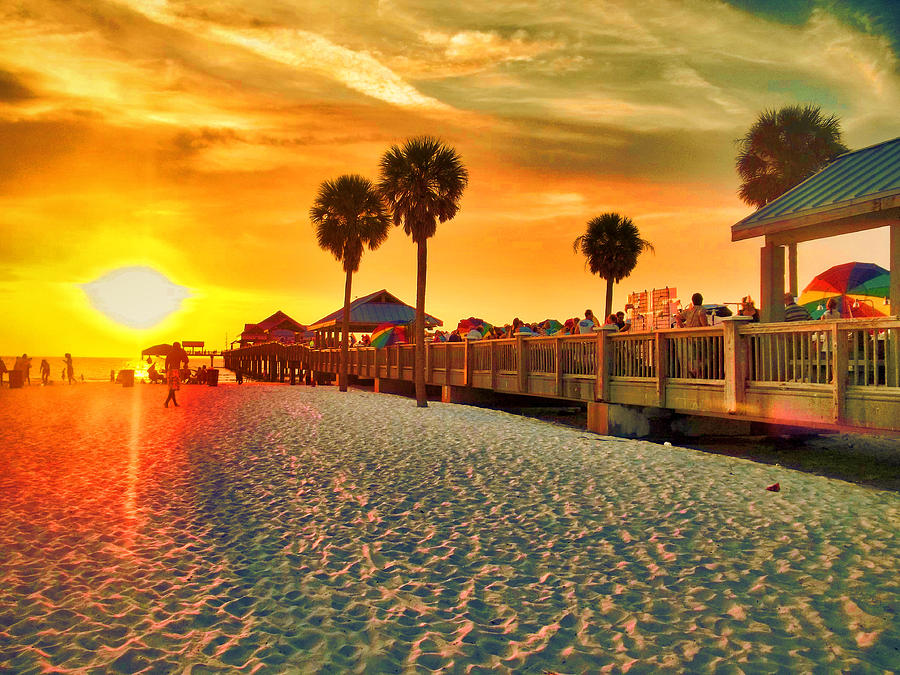 Sunset Clearwater Beach Fl Time