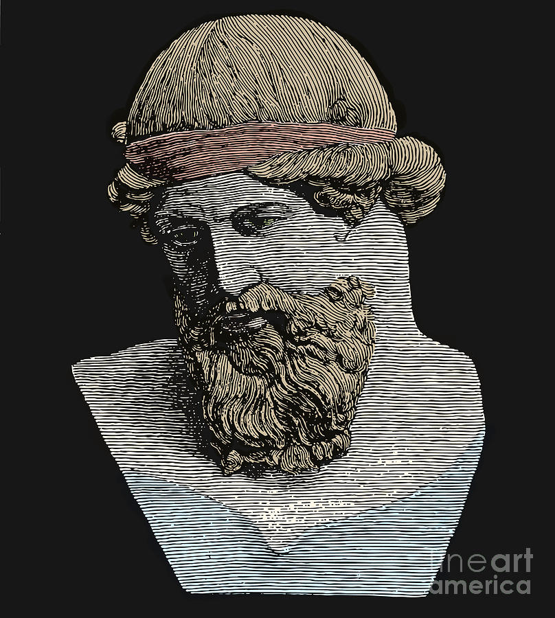 History Photograph - Plato, Ancient Greek Philosopher by Science Source