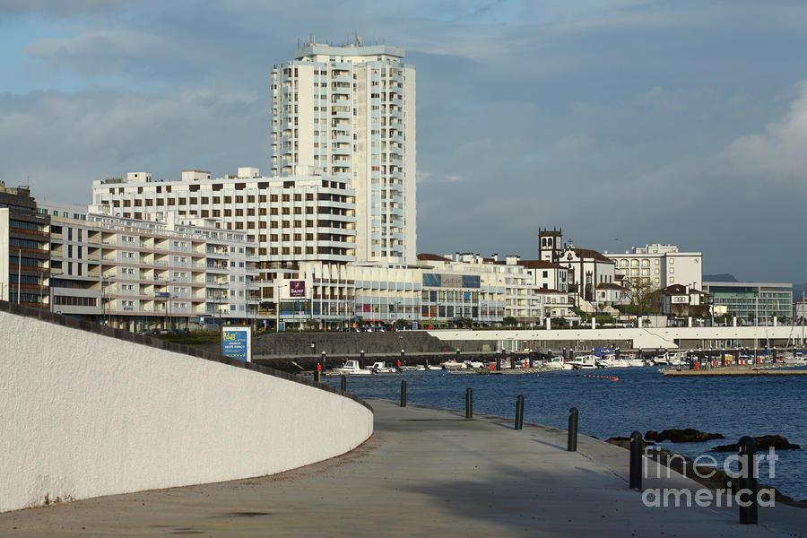 Ponta Delgada Waterfront Photograph