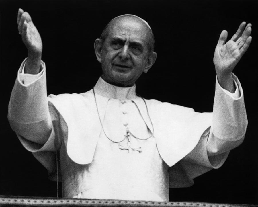 Pope Paul Vi, Circa Early 1970s Photograph  - Pope Paul Vi, Circa Early 1970s Fine Art Print