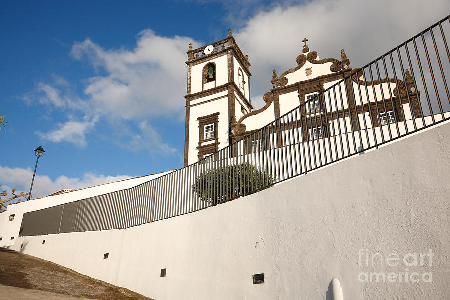 Portuguese Church Photograph  - Portuguese Church Fine Art Print