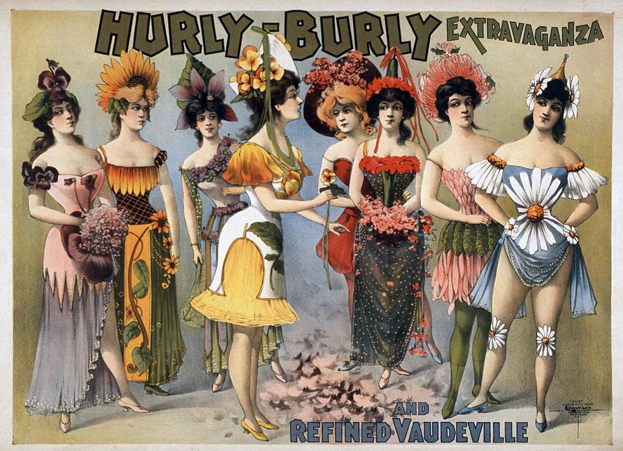 Poster For The Hurly-burly Extravaganza Photograph