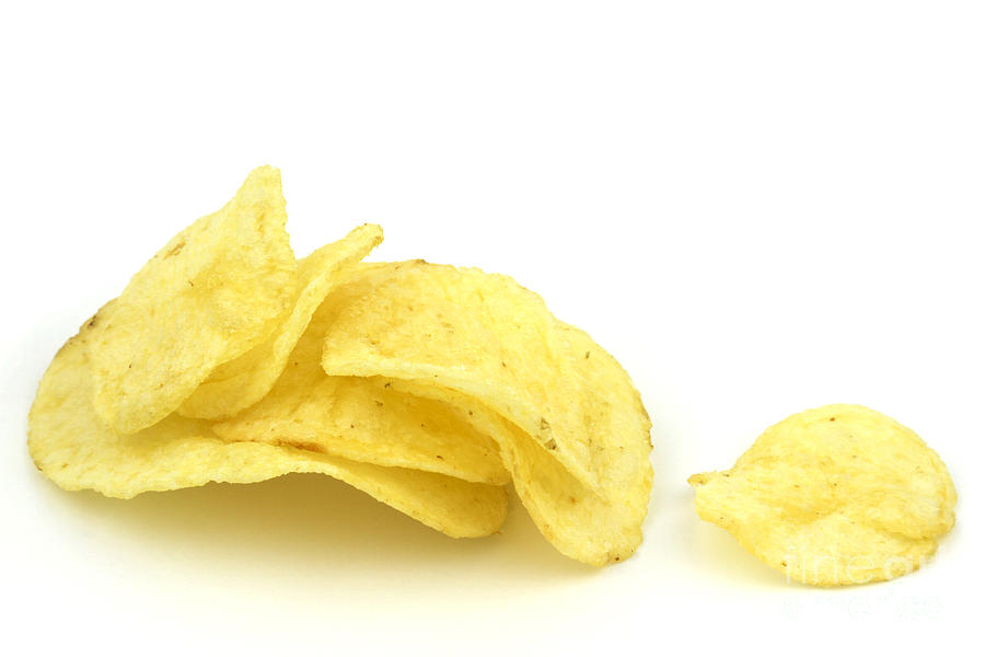 Potato Chips Photograph  - Potato Chips Fine Art Print