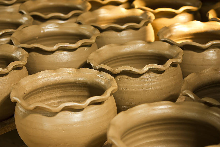 Pottery In Thailand  Photograph