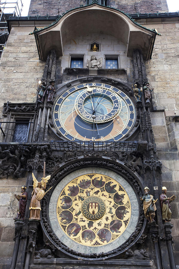 Prague Astronomical Clock Photograph  - Prague Astronomical Clock Fine Art Print