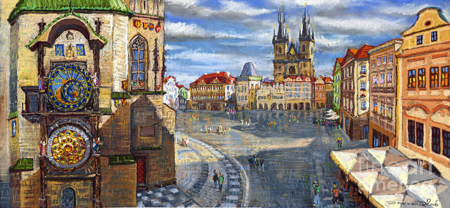 Prague Old Town Squere Painting